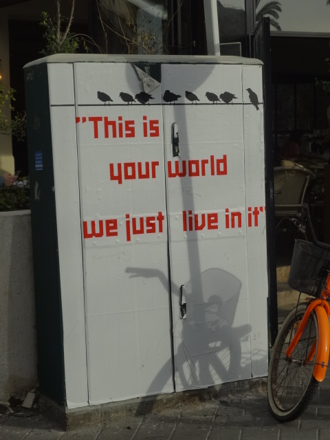 Your World - Tel AvivCraig Jones 01/02/2013