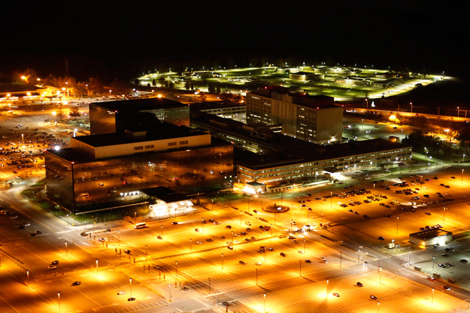 NATIONAL SECURITY AGENCY (NSA) Source: Trevor Paglen